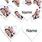 White Heart Personalised Confetti