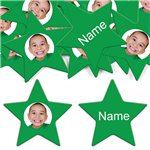 Green Star Personalised Confetti