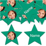 Emerald Star Personalised Confetti