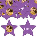 Purple Star Personalised Confetti