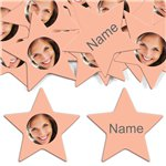 Peach Star Personalised