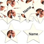 Ivory Star Personalised Confetti