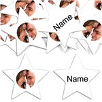 White Star Personalised Confetti