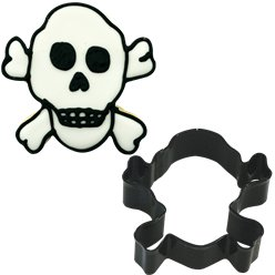 Skull & Cross Bones Cookie Cutter - 9cm