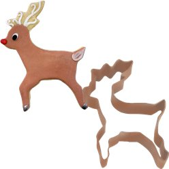 Reindeer Cookie Cutter - 10cm