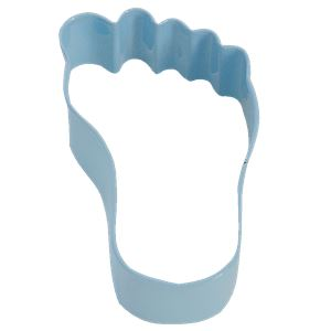 Blue Baby's Foot Cookie Cutter