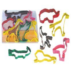Safari Cookie Cutter Set