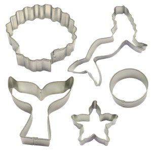 Mermaid Cookie Cutter Decorating Kit