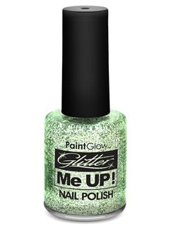 Glitter Nail Varnish - Silver 12ml