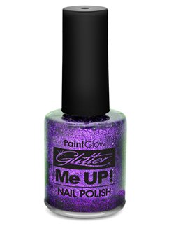 Glitter Nail Varnish - Purple 12ml