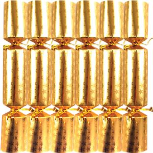Gold Star Christmas Crackers - 25cm