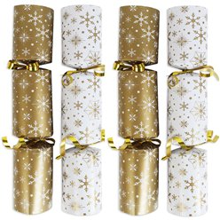 Gold & Cream Catering Crackers - 25cm