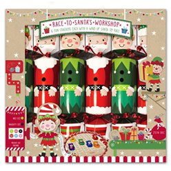 Santa Workshop Racing Crackers - 30cm