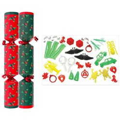 "10"" Holly Crackers"