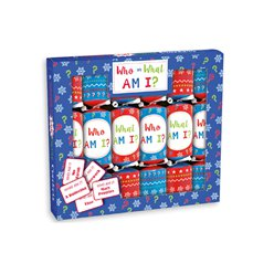 Who Am I Game Christmas Crackers - 23cm
