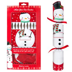 Snowman Make Your Own Crackers - 33cm