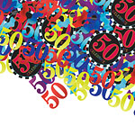 50th Birthday Confetti - Table Confetti