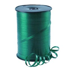 Hunter Green Curling Balloon Ribbon - 500m