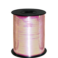 Iridescent Pink Metallic Curling Balloon Ribbon - 230m