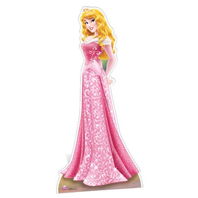 Sleeping Beauty 'Aurora' Cardboard Cutout - 1.81m
