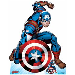 Captain America First Avenger Cardboard Cutout