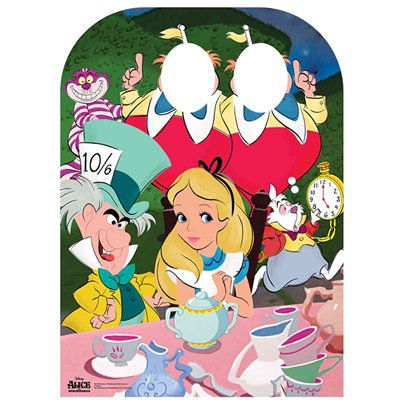 Alice in Wonderland Tea Party Stand In Photo Prop - 131cm