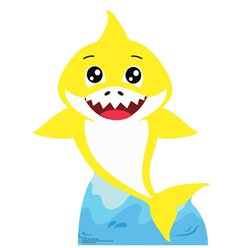 Baby Shark Cardboard Cut Out - 93cm