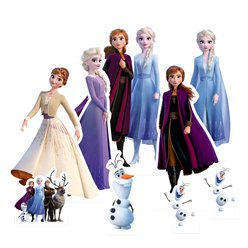 Frozen 2 Table Toppers (1pk) (Cardboard Cutout)