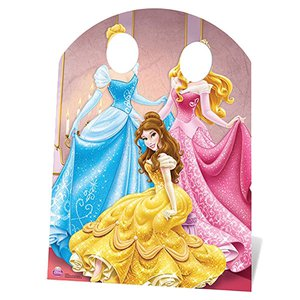 Disney Princess Stand In Cardboard Cutout - 1.27m