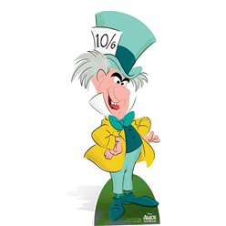 Alice in Wonderland Mad Hatter Cardboard Cutout - 1.3m
