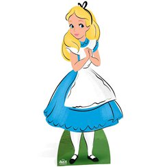 Alice in Wonderland Cardboard Cutout - 1.6m