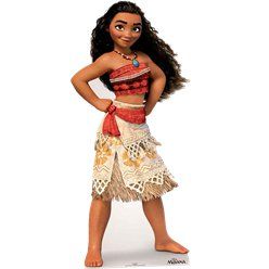 Moana Cardboard Cut Out - 1.58m