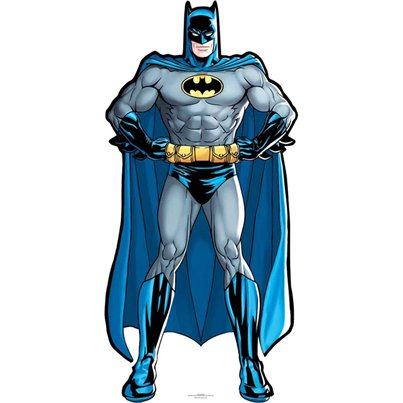 Batman DC Comics Mini Cardboard Cutout - 92cm