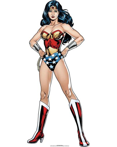Wonder Woman DC Comics Mini Cardboard Cutout - 92cm