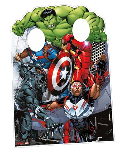 Avengers Assemble Stand In Photo Prop - 1.3m
