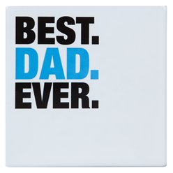 Fathers Day Best Dad Ever Coaster