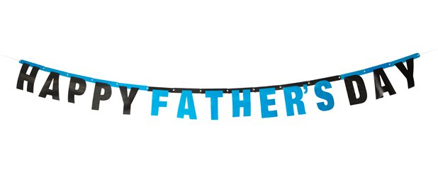 Happy Father's Day Banner - 1.8m