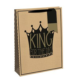 King for the Day Medium Gift Bag