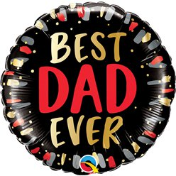 "Best Dad Ever Balloon - 18"" Foil"