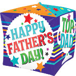 Cubez Happy Fathers Day Balloon