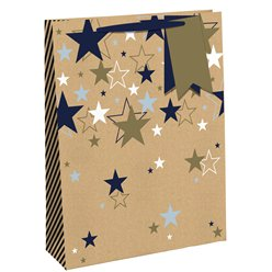 Multiple Stars Large Gift Bag