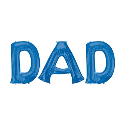 "DAD Balloon Bunting Kit - 16"" Foils Blue"