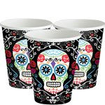 Day of the Dead - Paper Party Cups 9oz