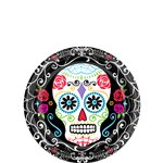 Day of the Dead Plates 17cm