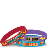DC Super Hero Rubber Bracelets