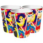 DC Super Hero Girls Cups - 266ml Paper Party Cups