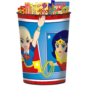 DC Super Hero Girls Plastic Favour Cup - 455ml