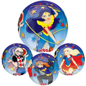 DC Super Hero Girls Orbz Balloon - 16