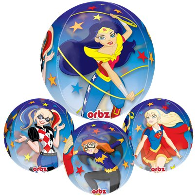 "DC Super Hero Girls Orbz Balloon - 16"" Foil"