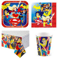 DC Super Hero Girls Party Pack - Value Pack for 8